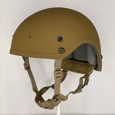 New Coyote Brown High Cut Nij Iiia Sohah Ballistic Cvc Helmet Devgru Seal Dh132B