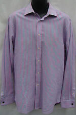 Double Cuff Formal Shirts Easy Iron Striped for Men