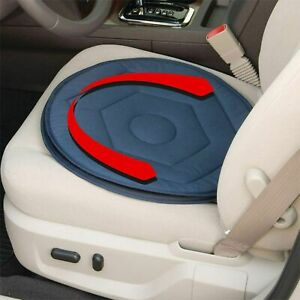 360°ROTATING SWIVEL CUSHION CAR CHAIR SEAT EASY ACCESS MOBILITY AID HOME OFFICE