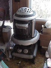 Antique HARTFORD Pot Belly Cast Iron Stove #22 NICE for Man Cave Potbelly 1900's