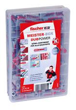 fischer Meister-Box, Dübel/Schrauben-Sortiment 160 Teile für alle Baustoffe