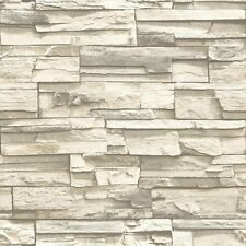 RMK9026WP Natural Stacked Stone Peel and Stick Wallpaper FREE SHIPPING