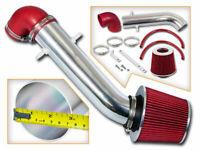 Short Ram Air Intake Kit + RED Filter for 91-95 JEEP Wrangler 2.5L 4.0L