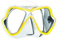 Mares Tauchmaske X-vision transparent gelb