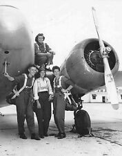WW2  Photo WWII WASP Female Pilots Greenville Mississipi  World War Two /5232