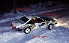 Bjorn 'Nalle' Johansson Opel Manta GT/E Swedish Rally 1983 Photograph 1