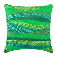 Green Decorative Euro Pillow Case 26x26 inch Silk - Green Garden