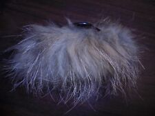 Real Coyote Fur Handmade Hair Clip