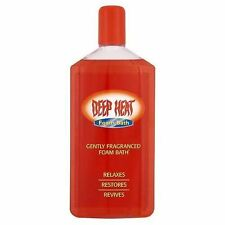 Mentholatum Deep Heat Foam Bath |Relaxes | Restores| Revives  350ml - 4 Pack