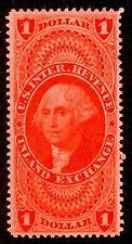 US Scott R69c $1.00 USIR Inland Exchange USED VF/XF NH Perf 12 Hand Cxl 1862-72