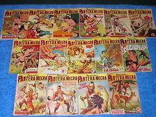 LOTE 38 TEBEOS ORIGINALES 1958 PEQUEÑO PANTERA NEGRA Editorial MAGA de 60 al 107