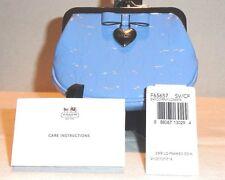 Coach NWT Patent Liquid Gloss Framed Kisslock Cornflower Blue Coin Change Purse