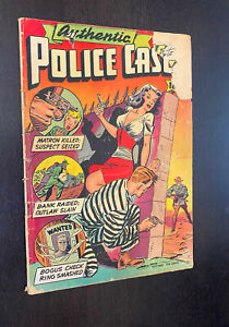 AUTHENTIC POLICE CASES #5 (St John 1948) -- Golden Age Crime -- GD