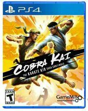 Cobra Kai The Karate Kid Saga Continues Sony PlayStation 4 PS4 Brand New Sealed