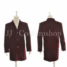 Who is Doctor 12th Dr Velvet Purple Overcoat Costume New version