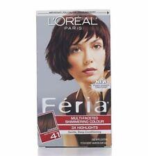 LOreal Feria Permanent Haircolor Gel - 41 Rich Mahogany (Warmer) 1 Ea (2 pack)