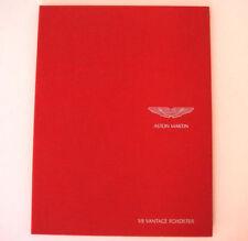 Aston Martin Paper 2007 Car Sales Brochures