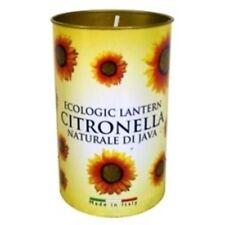 Los precios Ecologic citronela Vela Linterna Perfumada Jardín Verano cítricos