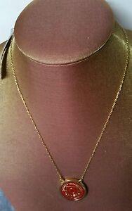 New OROTON ❤ SIGNATURE Gold CRESCENDO ENAMEL Choker Necklace Collar RRP $105.00