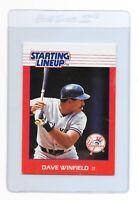 DAVE WINFIELD 1988 Starting Lineup New York YANKEES KENNER MLB Baseball CARD