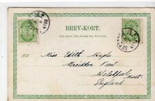 Denmark: 1902 picture postcard to England with Silkeborg postmarks (C36566)