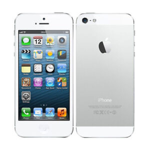 Apple iPhone 5   Black White GSM Unlocked Wireless 4G LTE Smartphone All Color