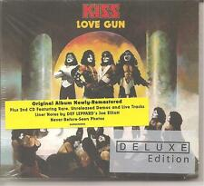 "KISS ""Love Gun"" Deluxe Edition 2CD Digipak sealed"