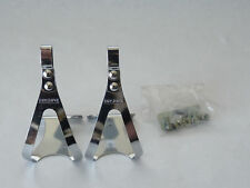 Christophe pedal toe clips w/ hardware small Vintage Road Track Bike Pista NOS