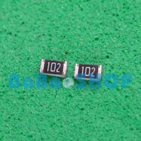 100pcs New 1K OHM 0603 SMT SMD Resistor Surface Mount ± 5% 102