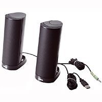 Dell AX210 Computer Speakers  USB Powered Wired Pair (2)