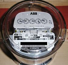 ABB, WATTHOUR METER (KWH) ABS-5UR, NETWORK, FORM 12S, 200A, 120V, 5 LUGS, 3 WIRE