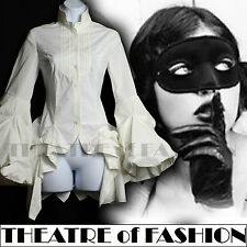 ALL SAINTS SHIRT 6 34 4 DRESS VINTAGE VICTORIAN BUSTLE KATERINA MASQUERADE POET