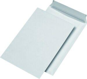 Versandtaschen C4 reißfest mm Securitex weiß 130g Haftklebung Briefumschlag Neu
