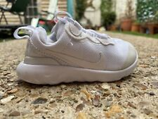 NIKE RENEW Toddler Baby Trainers Size UK 5.5 EUR 22 White Sneakers