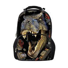 Cool Mens Dinosaur Backpack Large School Bag Bookbag Animal Zoo Bag Rucksack NEW