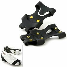 Snow Grabbers Steel Studded Grip Soles Ice Slip On Shoes Boots Protocol Walk XL