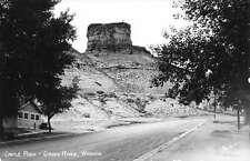 Green River Wyoming Castle Rock Real Photo Antique Postcard K60034
