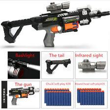 New Compatible Gun Strike Toy Darts Elite Blaster Gift For Children Submachine