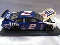 1:24 Scale Die Cast Stock Car Rusty Wallace #2 Action  RCCA w Case  Mounted Miller 25 Years in Racing Ford Thunderbird 1996