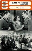 Movie Card. Stecker Cinéma. L 'Engel des Darkness (USA) 1935 Sidney Franklin