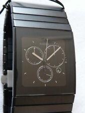 Rado Ceramica XXL Chronograph Schwarz m. Silber R21715152 NEU + OVP