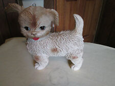 Vintage Large Edward Mobley Squeaky Dog Eyes open & Close, by Arrow Rubber Co