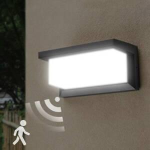 18W LED Außenleuchte mit Bewegungsmelder LED Außenlampe Wandleuchte Sensor IP65
