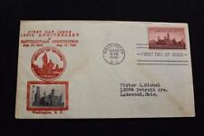 PATRIOTIC COVER 1946 1ST DAY ISSUE 100TH ANNIV SMITHSONIAN INSTITUTION (5542)