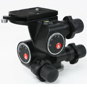 Manfrotto 410 Junior Geared Tripod Head with Quick Release Plate