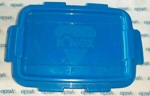 K'NEX Building Toy Storage Box Bin Blue 15x10x8