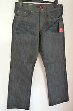 "4YOU BLACK SPECKLED STRAIGHT LEG JEANS    W33 L32""   BNWT  (6528)"