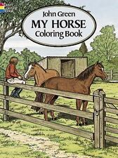 New - My Horse Coloring Book by John Green