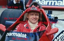 Niki Lauda Brabham F1 Portrait 1978 Photograph