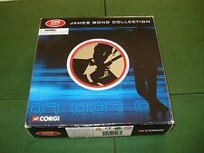 2003 CORGI SET OF JAMES BOND CARS w/CASE